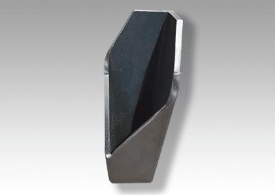 Rohrplasma mit Fase 250x250x25 mm